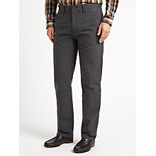 Buy John Lewis Pinpoint Cotton Blend Trousers Online at johnlewis.com