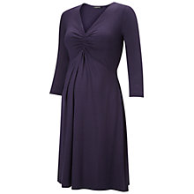 Buy Isabella Oliver Tisbury Maternity Dress, Navy Online at johnlewis.com