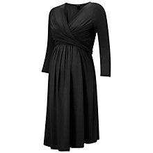 Buy Isabella Oliver Emily Maternity Dress, Caviar Black Online at johnlewis.com