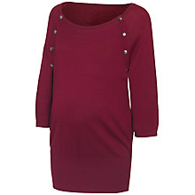 Buy Séraphine Alexia Maternity Nursing Jumper, Berry Online at johnlewis.com