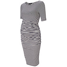 Buy Isabella Oliver Arlington Stripe Dress, Navy/White Online at johnlewis.com