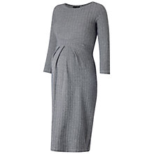 Buy Isabella Oliver Effra Maternity Dress, Grey Online at johnlewis.com