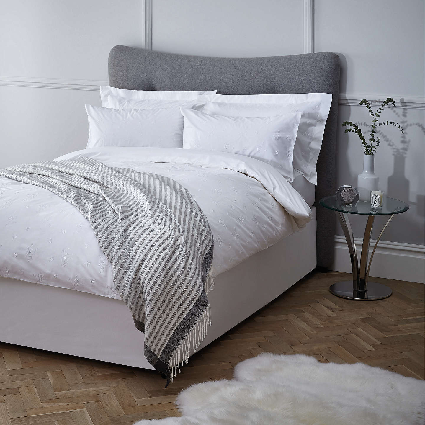 John Lewis Bedding Sets White