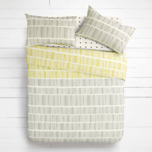 Buy House by John Lewis Lines Duvet Cover and Pillowcase Set Online at johnlewis.com