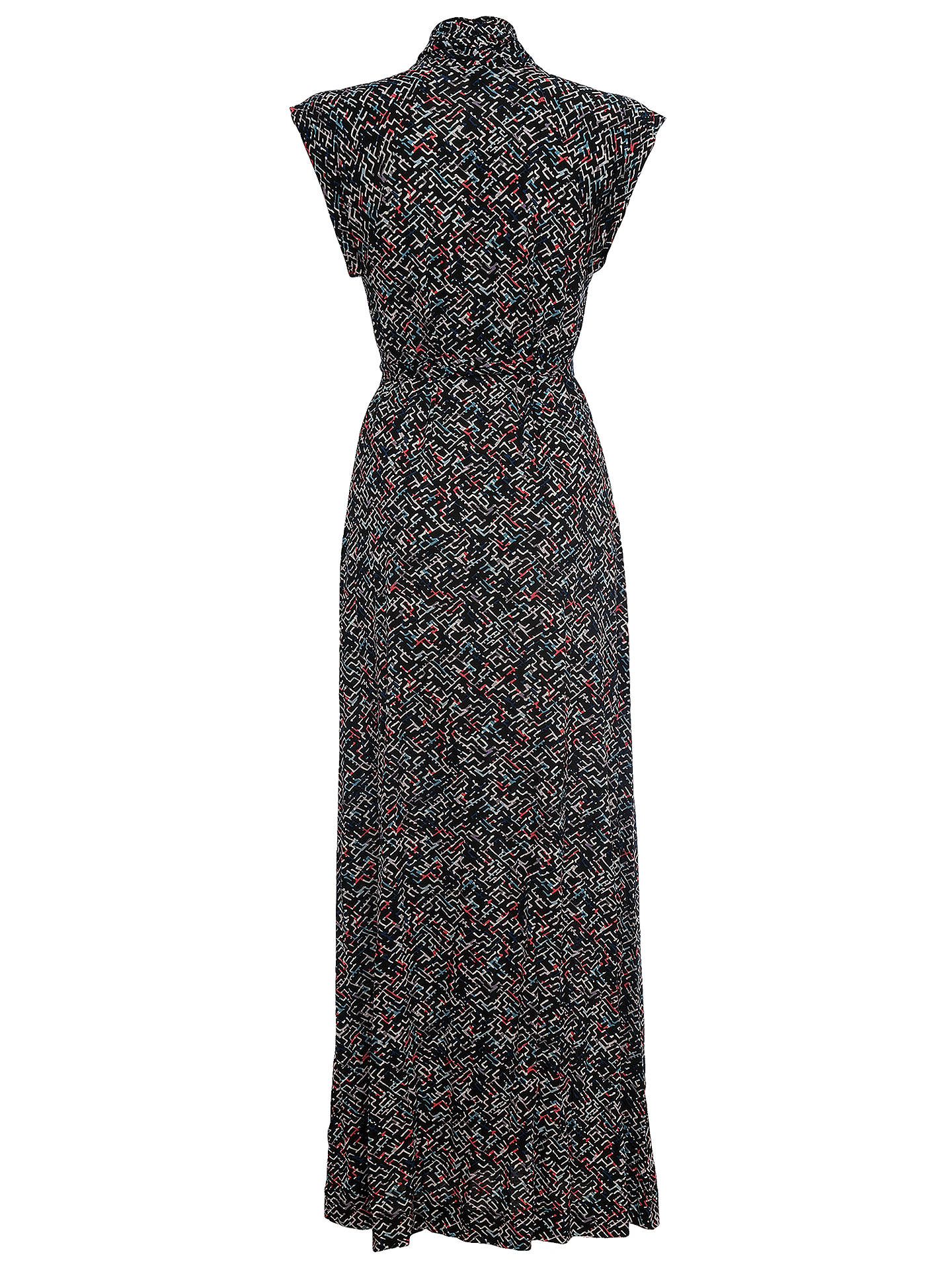 e25f51c3759 Buy French Connection Shadow Maxi Tie Dress, Confetti Grid, 6 Online at  johnlewis.