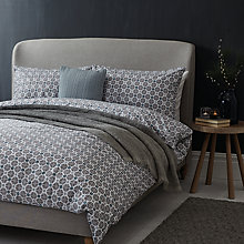 Buy John Lewis Croft Collection Snowshill Print Duvet Cover and Pillowcase Set Online at johnlewis.com