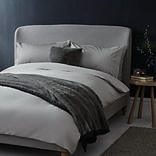 Buy John Lewis Croft Collection Snowstitch Duvet Cover and Pillowcase Set Online at johnlewis.com