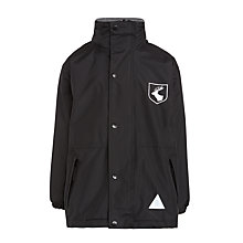 Buy Daiglen School Unisex Coat, Black Online at johnlewis.com