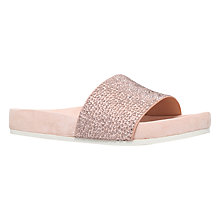 Buy KG by Kurt Geiger Missy Slip On Sandals, Nude Online at johnlewis.com