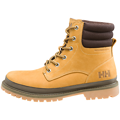 Helly Hansen Gataga Waterproof Leather Men's Boots, Wheat Brown
