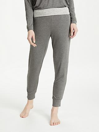 John Lewis & Partners Jersey Tapered Lounge Bottoms