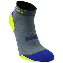 Buy Hilly Lite Cushion Running Socks, Grey/Yellow Online at johnlewis.com