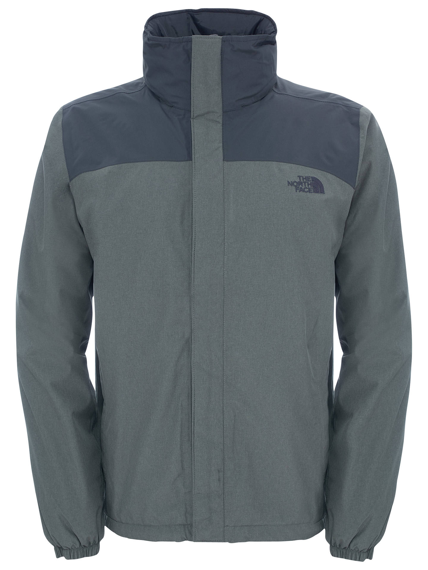 wholesale dealer cute cheap multiple colors The North Face Men's Resolve Insulated Jacket, Grey Heather ...