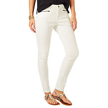 Buy Phase Eight Victoria Stitch Detail Jeans, White Online at johnlewis.com