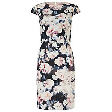 Buy Phase Eight Juniper Double Layer Dress, Multi Online at johnlewis.com
