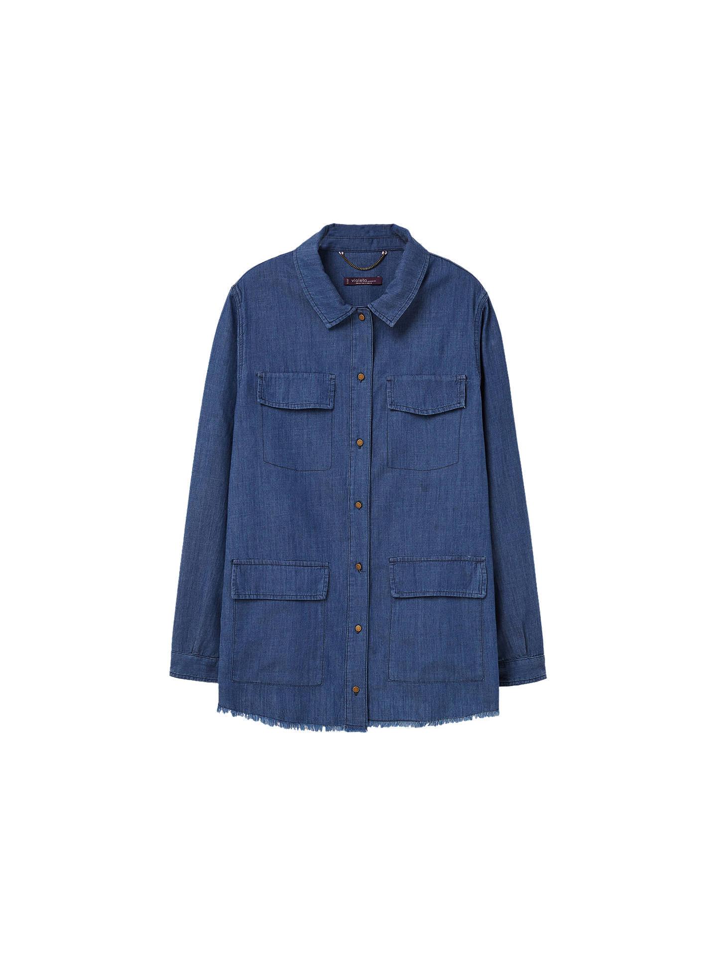 b2f4ca8563d BuyVioleta by Mango Medium Denim Shirt