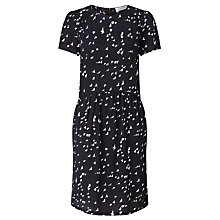Buy Collection WEEKEND by John Lewis Bird Print Dress, Black/Ivory Online at johnlewis.com