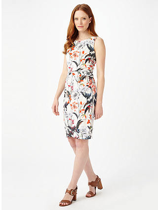 Buy Phase Eight Marguerite Floral Dress, Multi, 6 Online at johnlewis.com