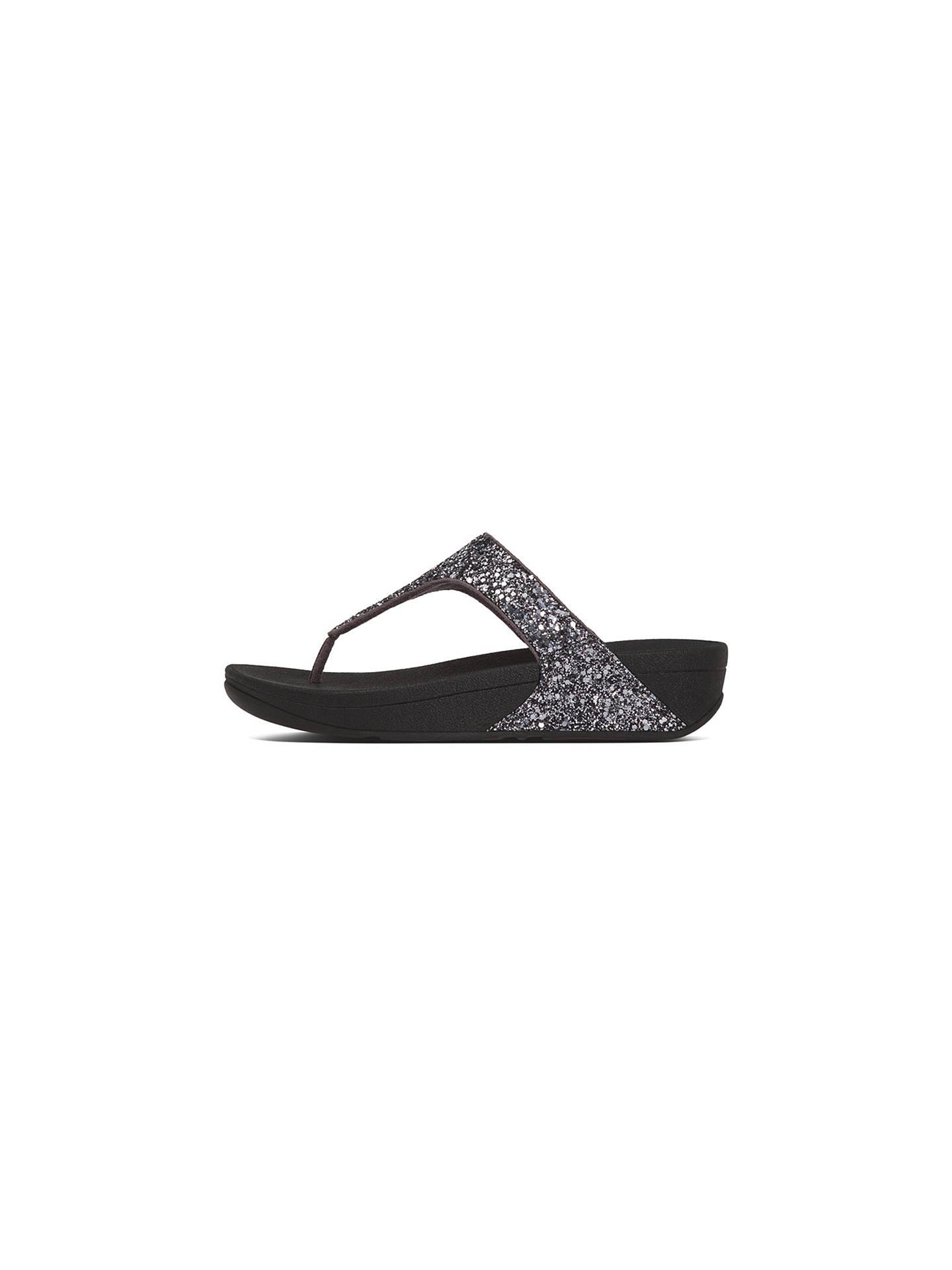 4847626badd7 FitFlop Glitterball Toe Post Flip Flops at John Lewis   Partners
