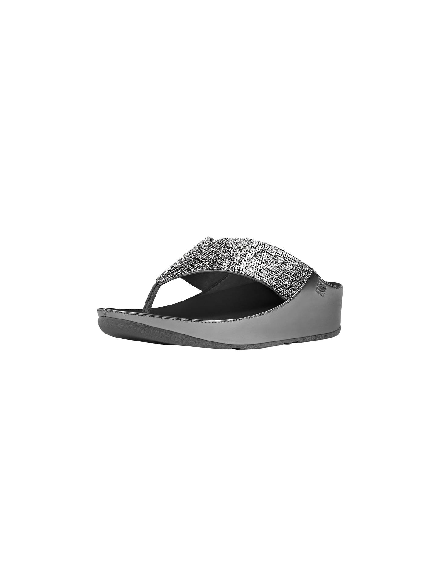 c7a2f74385ad9a Buy FitFlop Crystall Toe Post Sandals