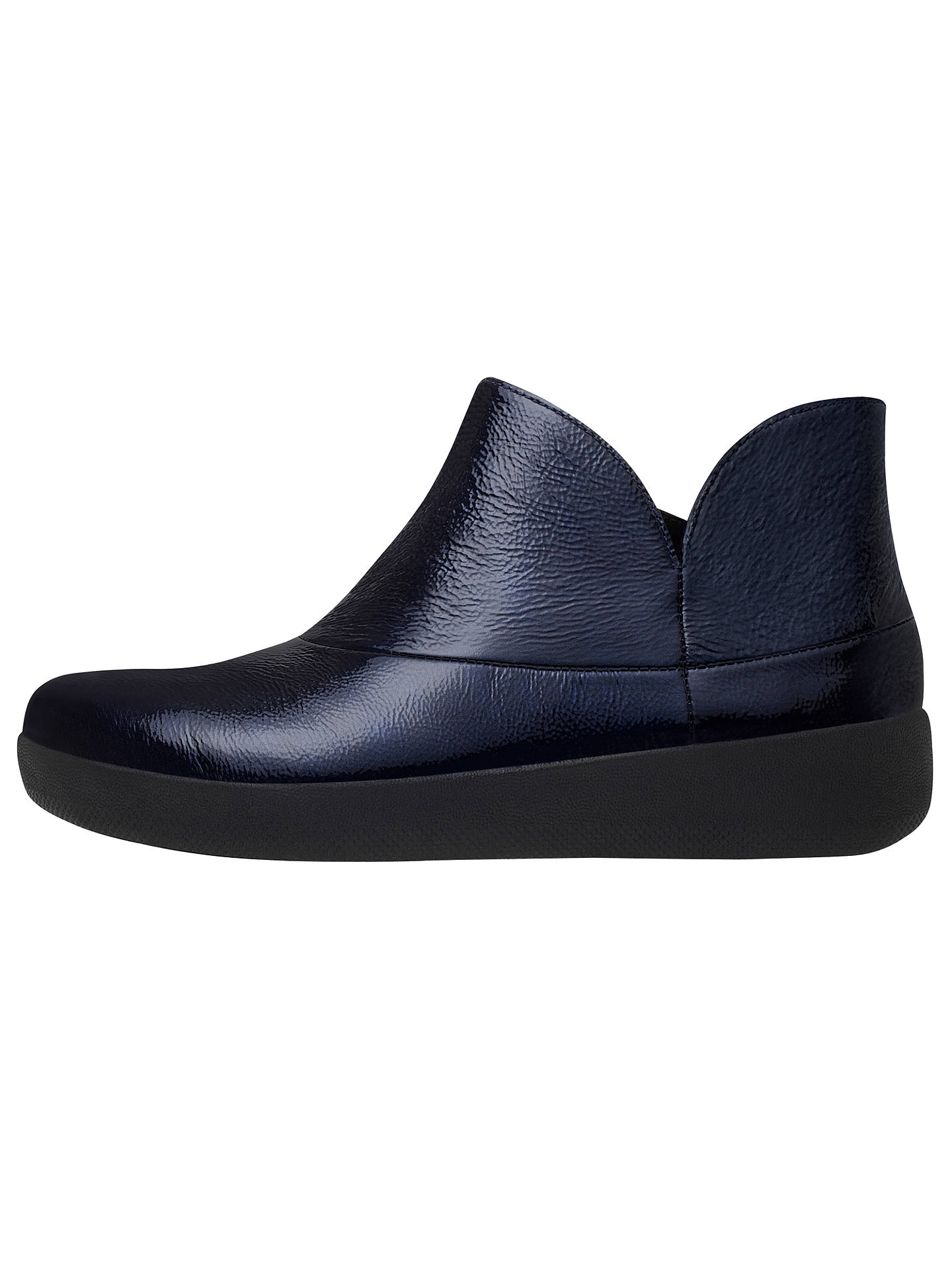 822d98bffb2 FitFlop Supermod Ankle Boots, Inky Blue at John Lewis & Partners