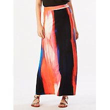 Buy Phase Eight Leona Print Maxi Skirt, Multi Online at johnlewis.com