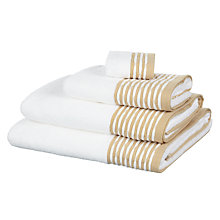Buy Croft Collection Salisbury Border Towels Online at johnlewis.com