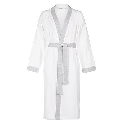 John Lewis Croft Collection Soft Cotton / Modal Rib Bath Robe