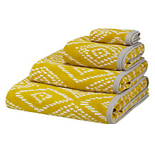Buy John Lewis Fusion Mila Towels, Saffron Online at johnlewis.com