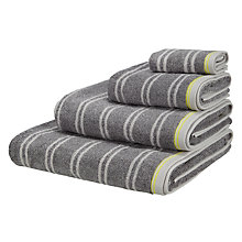Buy House by John Lewis Marl Stripe Towels Online at johnlewis.com