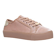 Buy Carvela Lazer Flatform Trainers, Nude Online at johnlewis.com