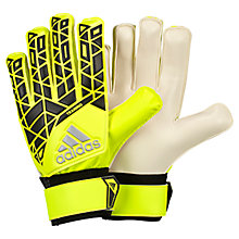 Buy Adidas Ace Training Goalkeeper Gloves, Yellow/Black Online at johnlewis.com