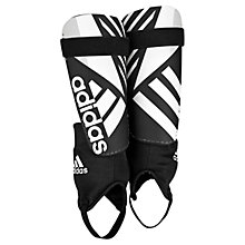 Buy Adidas Ghost Club Shin Pads, Black/White Online at johnlewis.com