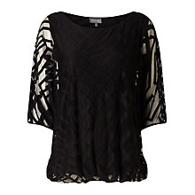 Buy Phase Eight Eve Geo Burnout Top, Online at johnlewis.com