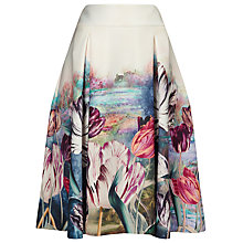 Buy Phase Eight Eden Print Scuba Skirt, Multi Online at johnlewis.com