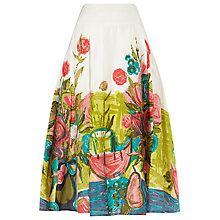 Buy Phase Eight Adeline Print Skirt, Multi Online at johnlewis.com