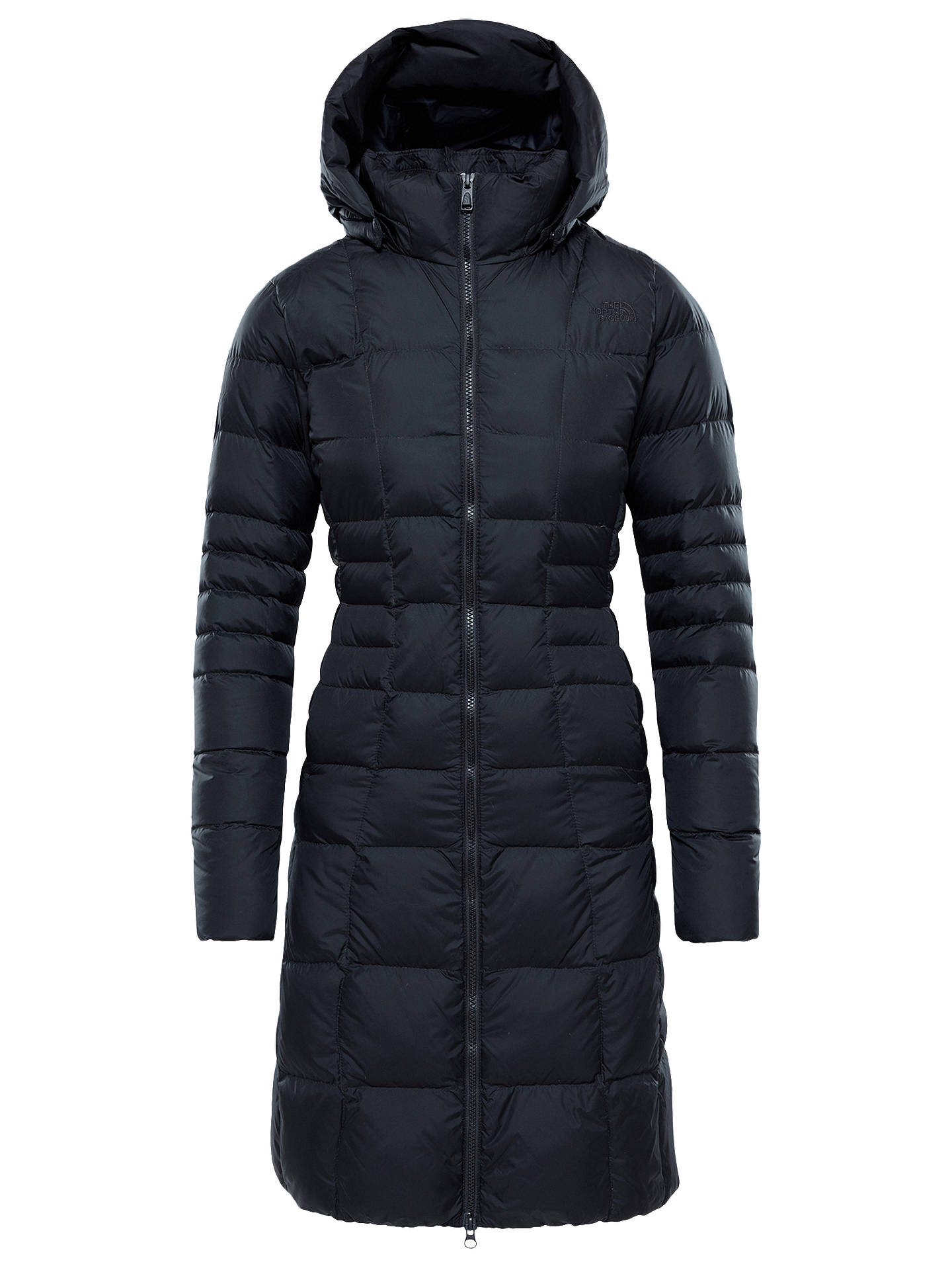 BuyThe North Face Metropolis II Women's Parka Jacket, Black, S Online at johnlewis.com