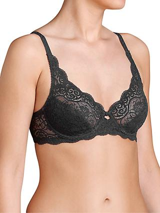 Triumph Amourette 300 Underwired Bra, Black