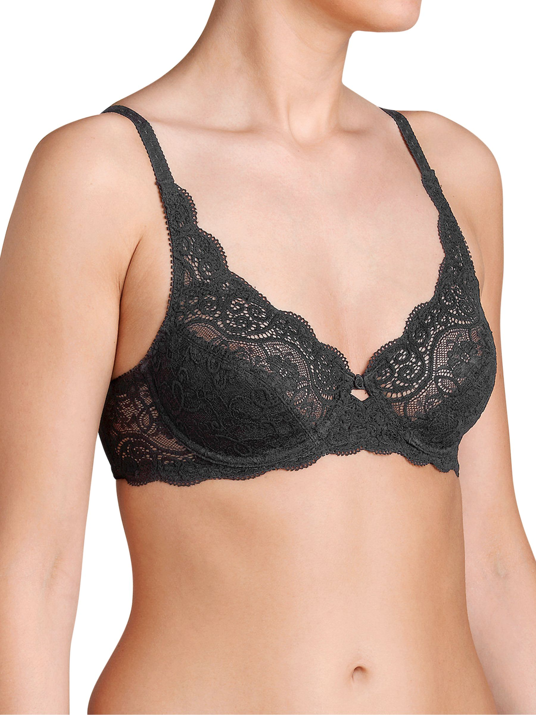 Triumph Triumph Amourette 300 Underwired Bra, Black
