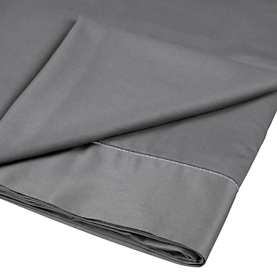 John Lewis 400 Thread Count Crisp & Fresh Egyptian Cotton Flat Sheet