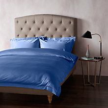 Buy John Lewis 400 Thread Count Soft & Silky Egyptian Cotton Bedding, Navy Online at johnlewis.com
