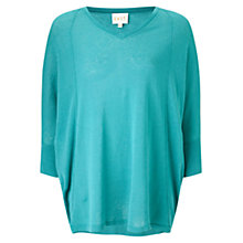 Buy East Seam Detail Poncho Jumper Online at johnlewis.com