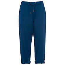 Buy French Connection Island Denim Trousers, Indigo Online at johnlewis.com