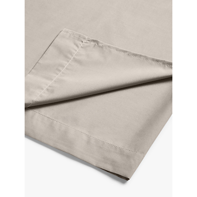 John Lewis 200 Thread Count Polycotton Flat Sheet