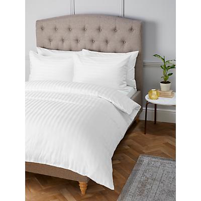 John Lewis Satin Stripe 200 Thread Count Egyptian Cotton Bedding
