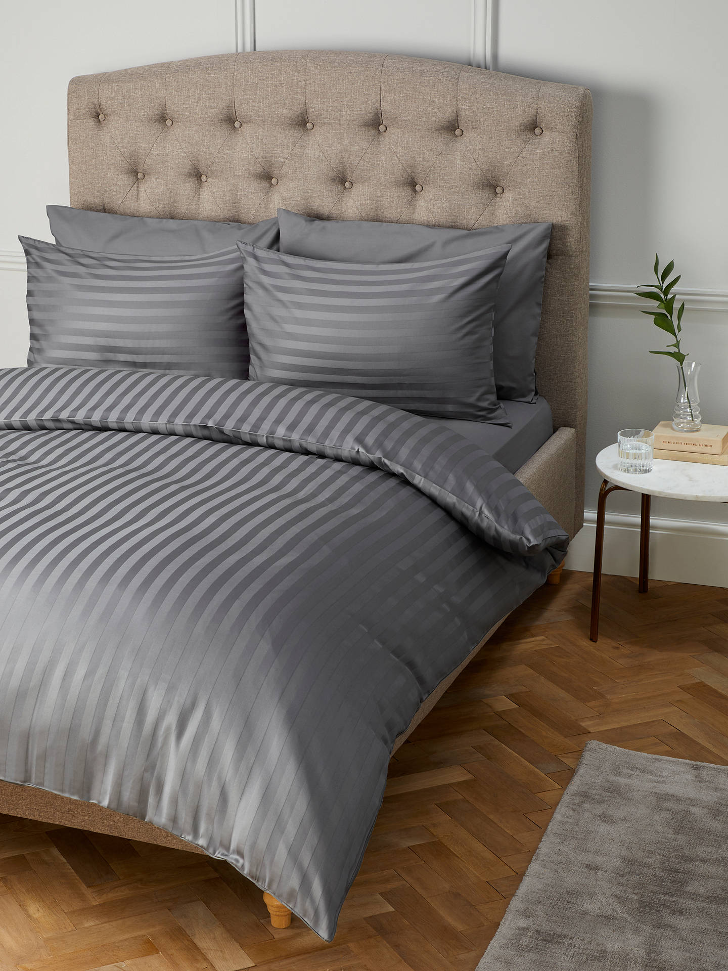 John Lewis Amp Partners Soft And Silky Satin Stripe 200