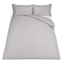 Buy John Lewis Crisp & Tailored 200 Thread Count Chambray Cotton Bedding Online at johnlewis.com