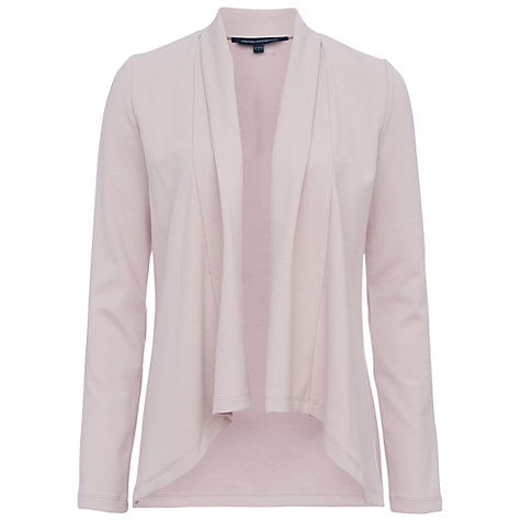 Buy French Connection Josie Drape Jacket, Barley Sugar Online at johnlewis.com
