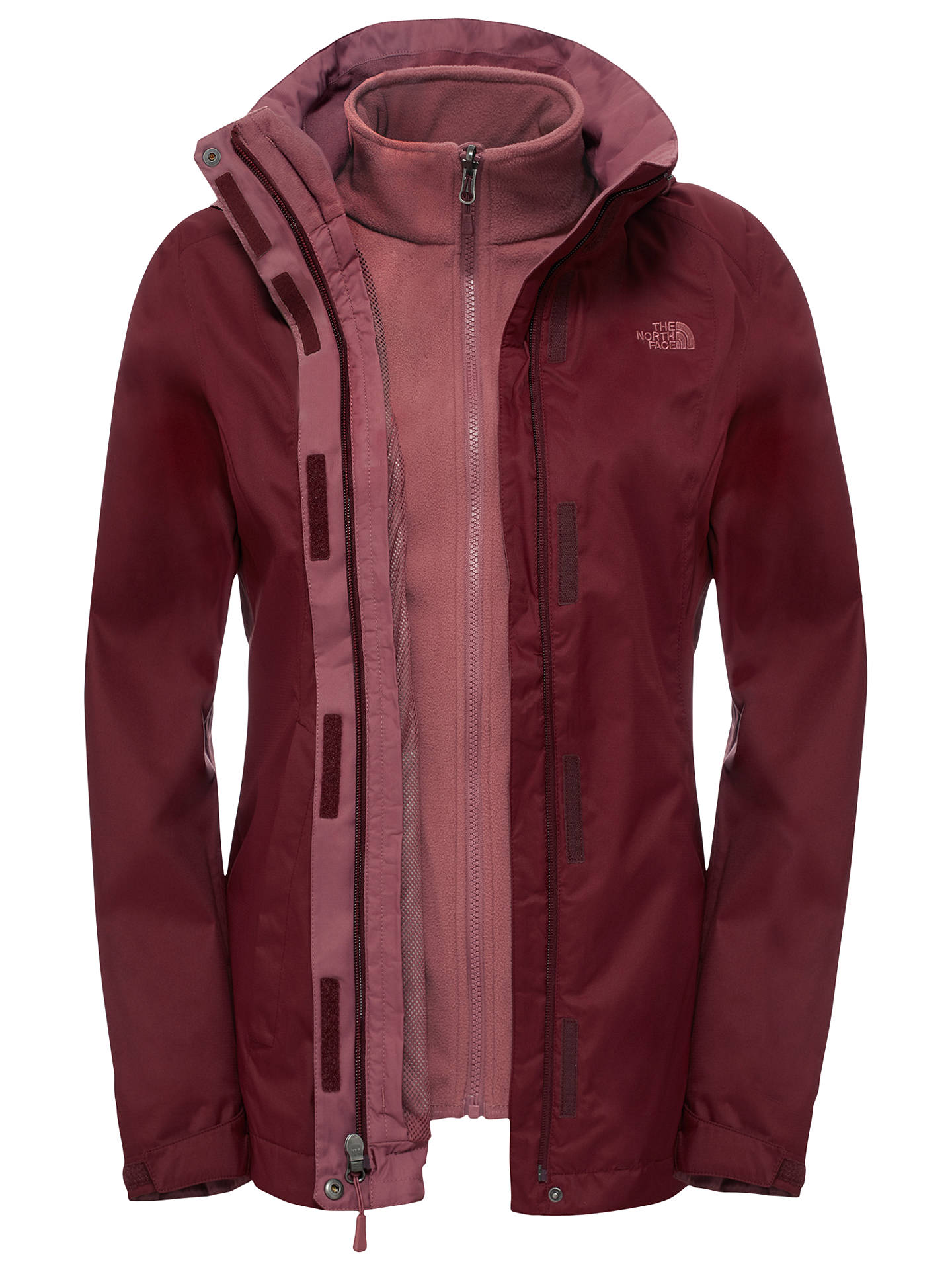 0f82bd38c304 ... spain buythe north face evolve ii triclimate 3 in 1 waterproof womens  jacket red f6420 13fd7