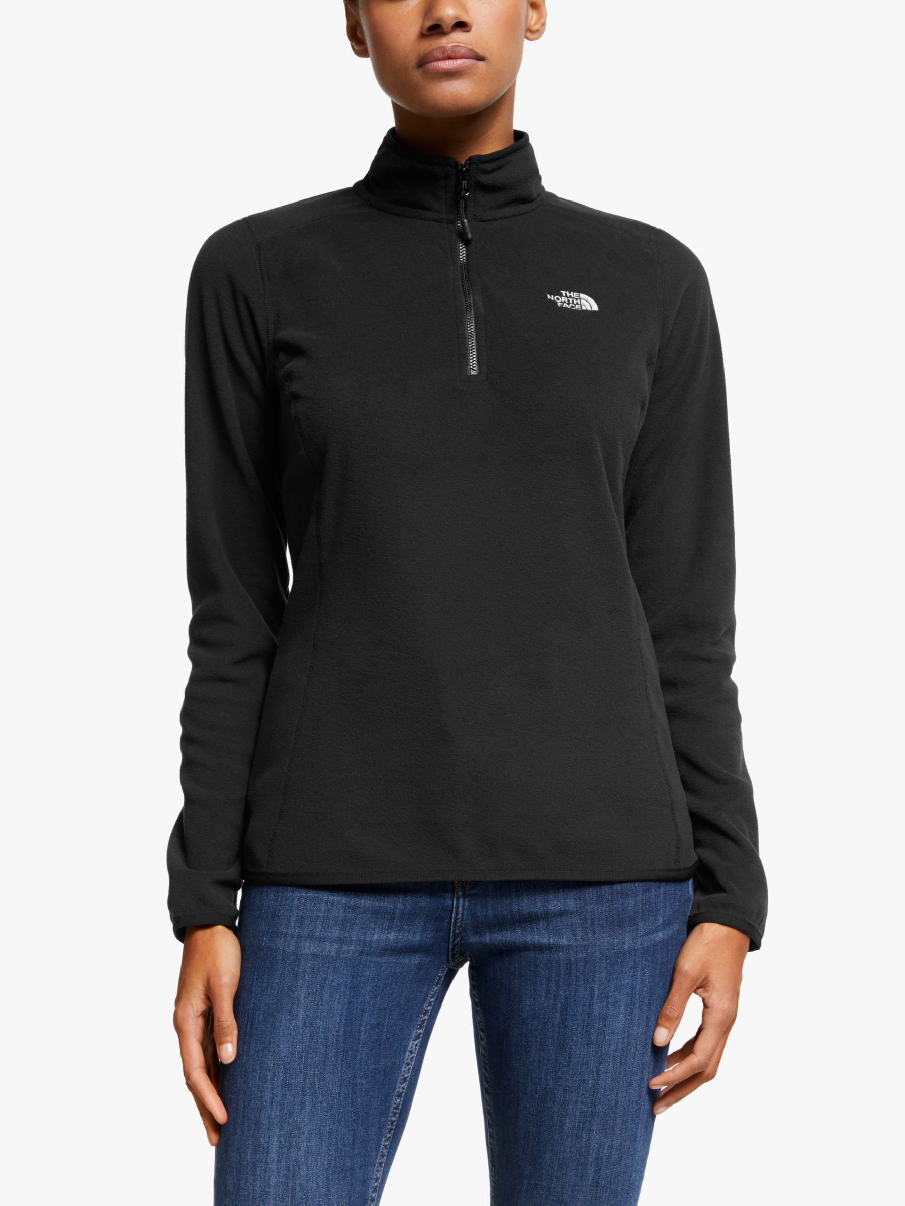 The North Face The North Face 100 Glacier 1/4 Zip Women's Fleece, Black